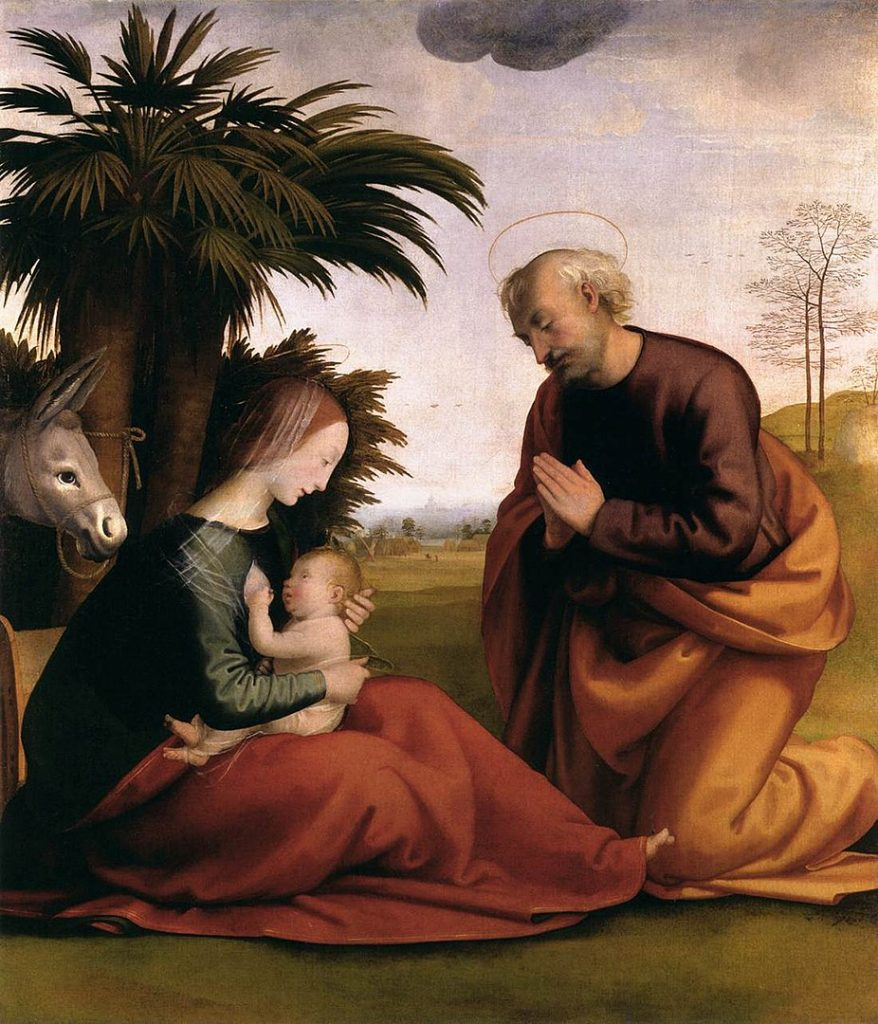 926px Fra bartolomeo 10 Rest on the Flight into Egypt