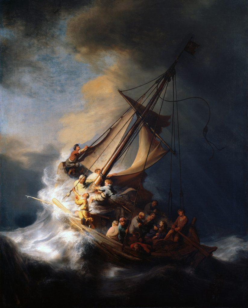 1737px Rembrandt Christ in the Storm on the Lake of Galilee